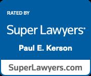 SuperLawyers-Paul E Kerson